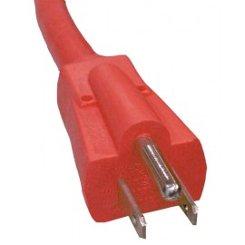 50' COMMERCIAL ELECTRIC CORD - 14/3 600V - RED