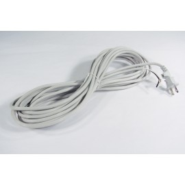 30' ELECTRIC CORD - 2 WIRES - GREY