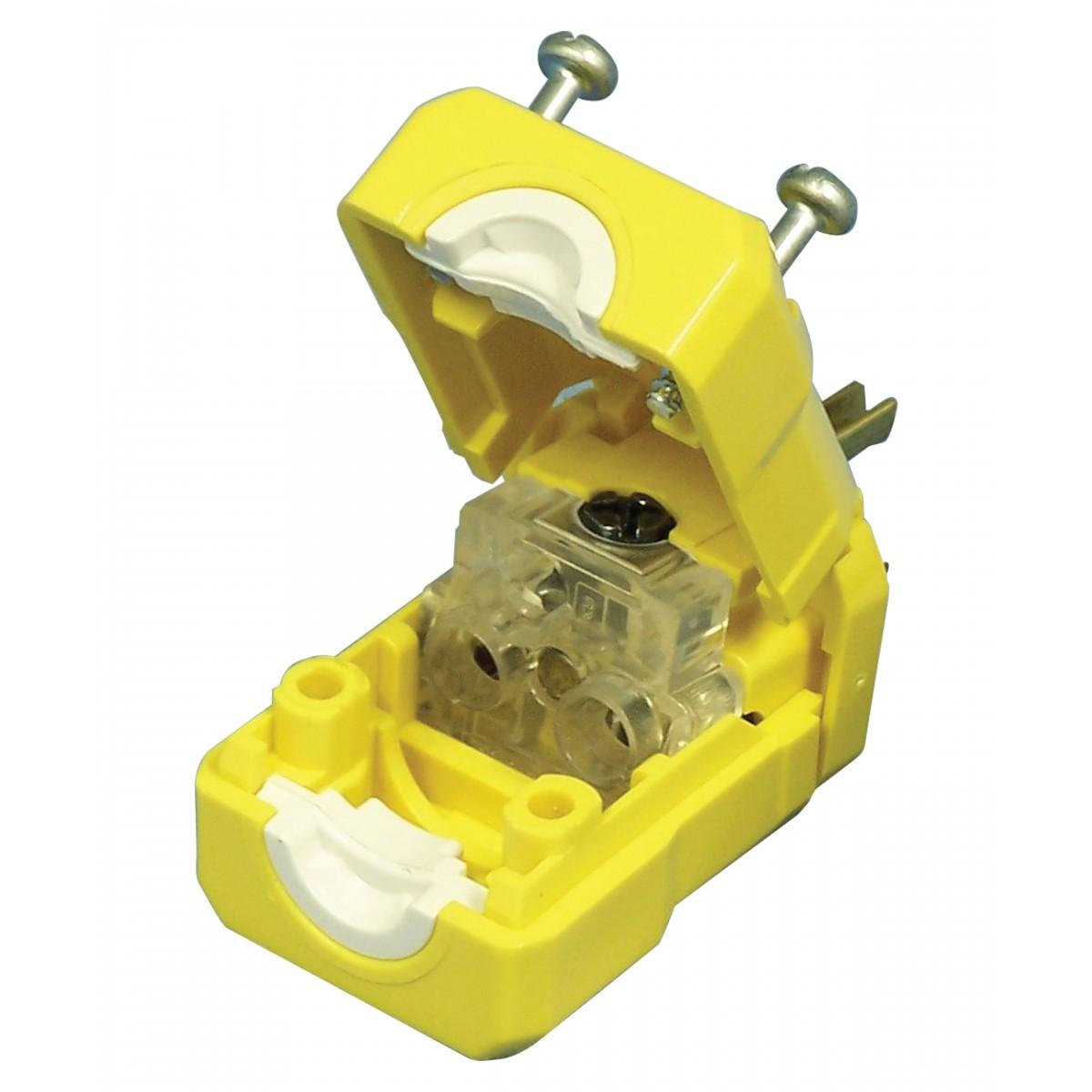 electric male plug 3 wires top quality yellow leviton rh johnnyvac com Polarized Plug Wiring Leviton wiring a leviton plug pdf
