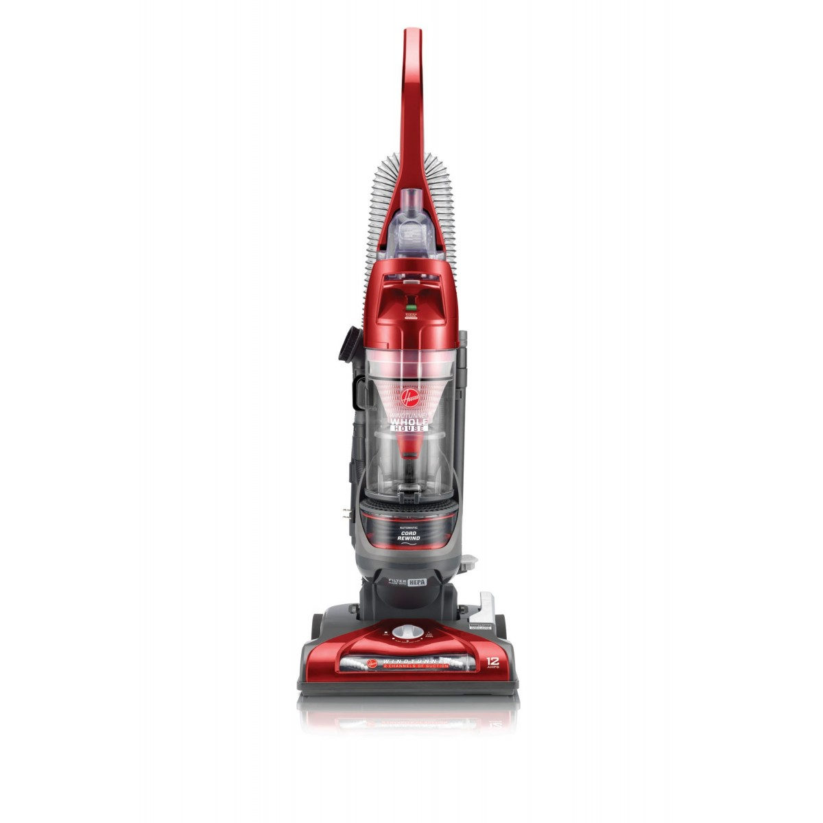 Hoover WindTunnel 2 Whole House Rewind Bagless Vacuum ...