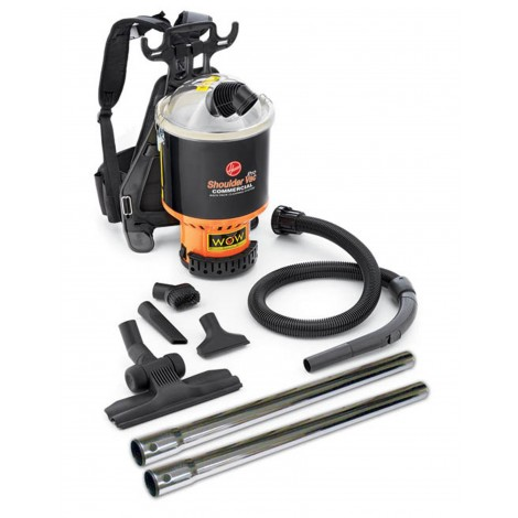 "Hoover Back Pack Bagless Vacuum with 1.25"" Tools C2401010"
