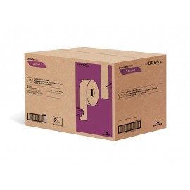 """Papier hygienique commercial géant - 2 épaisseurs - 3,3"""" x 600' (8,4 cm x 182,9 m) - boîte de 8 rouleaux - blanc - Cascades Pro B085"""
