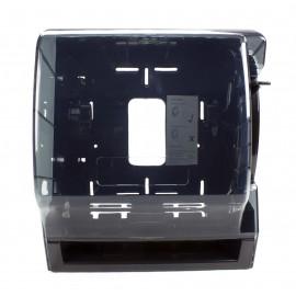Distributrice avec levier pour papier essuie-mains en rouleau