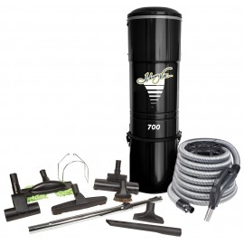 DELUXE CENTRAL VACUUM & ACCESSORIES KIT