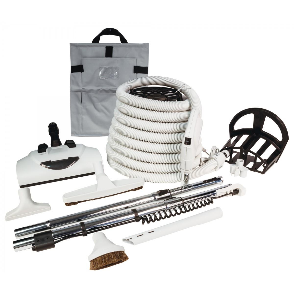 Central Vacuum Kit 30 Hose Power Nozzle Wessel Werk