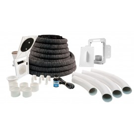 Complete Central Vacuum Installation with Inlet Valve and 30' Hose Hide a Hose#HHKIT30N