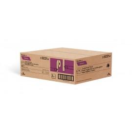 "Commercial Jumbo Bathroom Tissue - 2 Ply - 3.45"" x 750' (8.8 cm x 228.6 m) - Box of 12 Rolls - White - Cascades Pro B221"