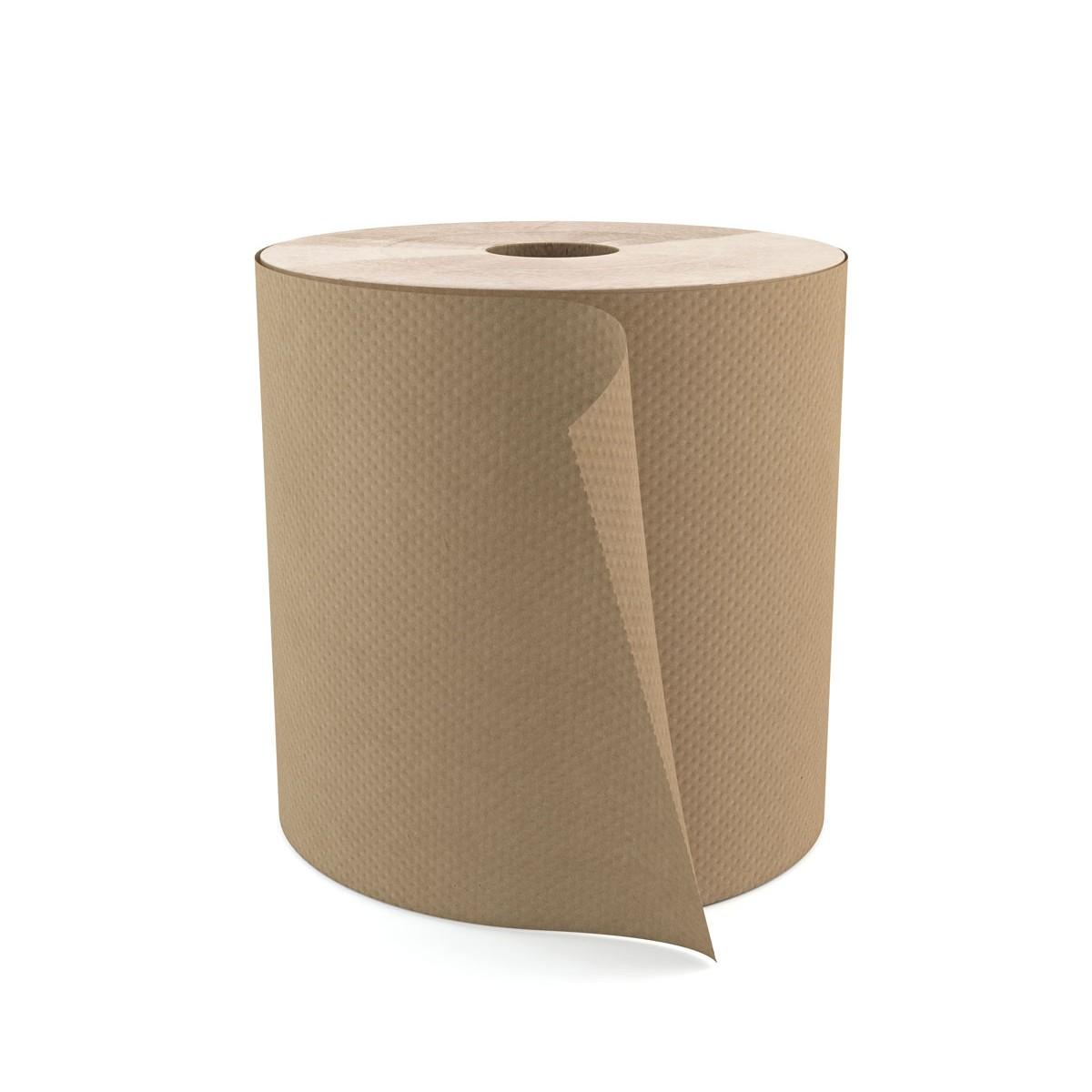 papier essuie mains en rouleau brun. Black Bedroom Furniture Sets. Home Design Ideas