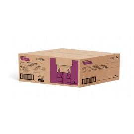 """Papier essuie-mains - plis multiples - 8,1"""" x 9,45"""" (20,6 cm x 24 cm) - boîte de 16 paquets de 250 feuilles - brun - Cascades Pro H125"""