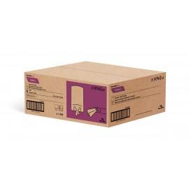 Papier essuie-mains - dévidoir central - 2 plis - 10 x 7,8 po (25,4 cm x 19,8 cm) - boîte de 6 rouleaux - blanc - Cascades Pro H140