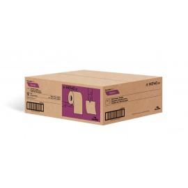 """Papier essuie-mains - largeur de 7,8"""" (19,8 cm) - Rouleau de 425' (129,5 m) - boîte de 12 rouleaux - blanc - Cascades Pro H040"""