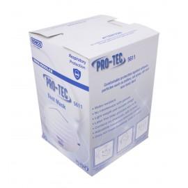 Masques contre les particules - certifié N95 - sans valve - boîte de 50