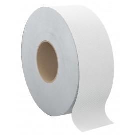 Commercial Jumbo Bathroom Tissue - 2 Ply - 12 Rolls per Box - White - Cascades B140
