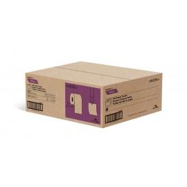 """Papier essuie-mains - largeur de 7,8"""" (19,8 cm) - Rouleau de 350' (106,6 m) - boîte de 12 rouleaux - brun - Cascades Pro H235"""