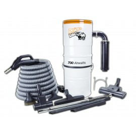 CENTRAL VACUUM KIT & ACCESSORIES RHINOVAC
