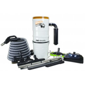 CENTRAL VACUUM KIT & ACCESSORIES RHINOVAC WITH POWERHEAD
