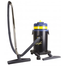 Aspirateur commercial - capacité du réservoir de 37 L (8 gal) - avec dispositif de nettoyage du filtre - cuve sur chariot - boyau et ensemble de brosses - IPS ASDO012891