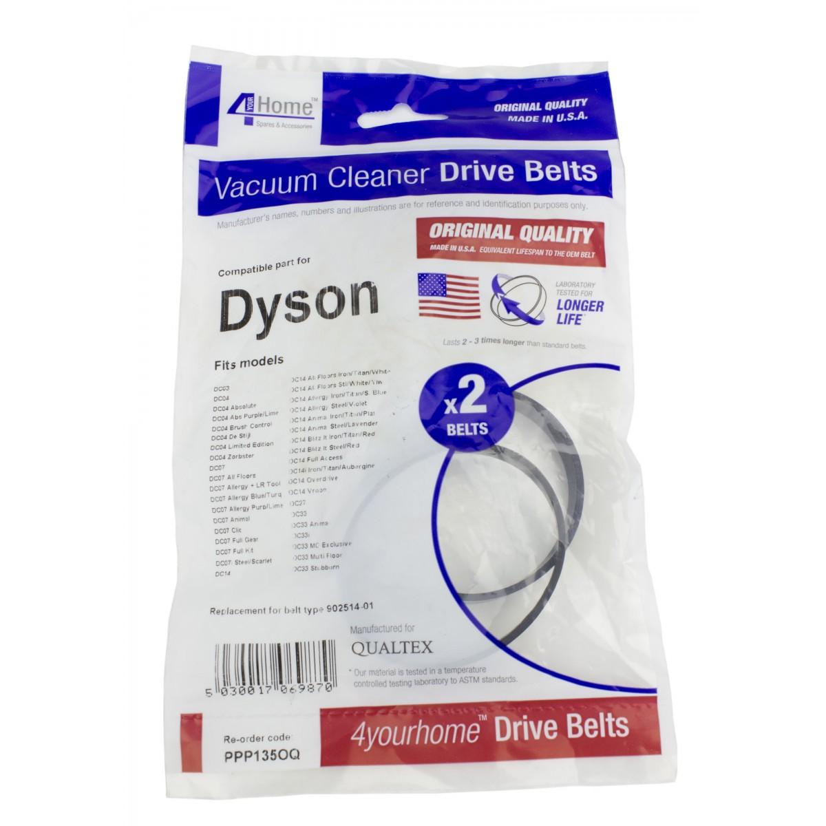 dyson dc07 installation de la ceinture