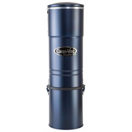 Central Vacuum Canavac - Signature LS550 - Silent - 465 Airwatts - 5 gal (19 L) Tank Capacity - Wall Mount Bracket - HEPA Bag and Filter