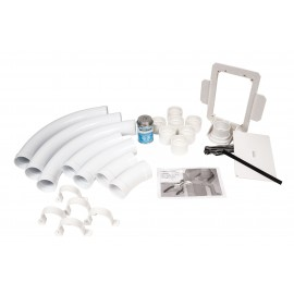 Installation Kit for Hide-A-Hose System - White - 50' (15 m) or 60' (18 m) - for HS4000 Inlet