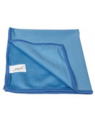 chiffon de microfibre pour nettoyer les vitres 14 39 39 x 14 39 39 bleu. Black Bedroom Furniture Sets. Home Design Ideas