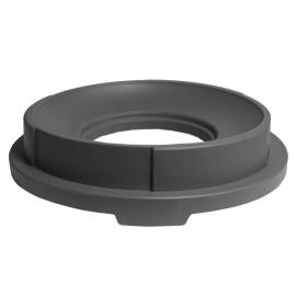 Couvercle en entonnoir pour poubelle pour JS0030 - gris moyen