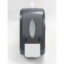 SOAP DISPENSER - 800 ML - CLEAR BLACK