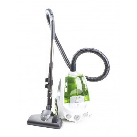 HELIOS - BAGLESS CANISTER VACUUM - 120 V