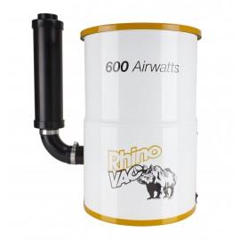 Aspirateur central compact de RhinoVac - 600 watts-air