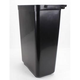 Panier à ordures pour accrocher aux chariots de service / utilitaire - JS0181BK / JS0181GY / JS0181LG - noir