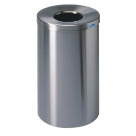 LOBBY WASTE CONTAINER STAINLESS STEEL FROST 125L / 33 GAL