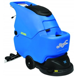 "JVC50BC - 20"" AUTOSCRUBBER JVC50BC - Autoscrubber20 "" Under Stress with Key, Indicators for Batteries, Indicator of the Time of Use, Working Width of 20 "", Efficiency on 20 990 Pi2 / 1950 M2 at the Hour, Brush Activated by Lever,"