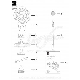 Kenmore Straight Air Accessory Kit 108-34472