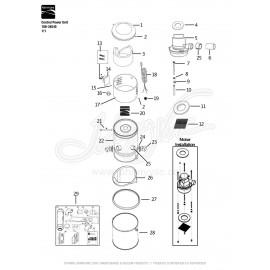 Kenmore Central Vacuum Kit 108-34713