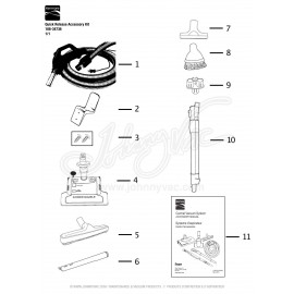 Kenmore Quick Release Accessory Kit 108-34736