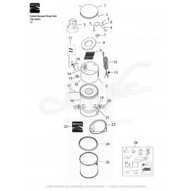 Kenmore Central Vacuum Kit 108-34745