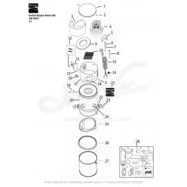 Kenmore Central Vacuum Power Unit 108-34417