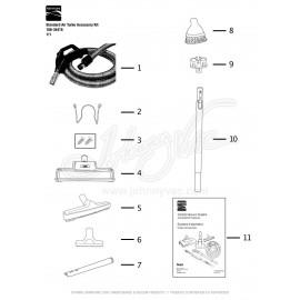 Standard Air Turbo Accessory Kit 108-34418