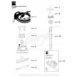 Quick Release Accessory Electric Kit 108-34420