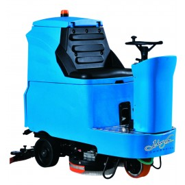 "34"" RIDE ON AUTOSCRUBBER WIHT TRACTION - JOHNNY VAC"