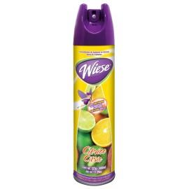 Déodorisant en aérosol - parfum citron - 400 ml (14 oz) - Wiese NAEHO25
