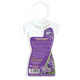 Rafraichisseur pour armoires, gardes-robes et tiroirs - frangrance lavande - 170 g (6 oz) - Wiese NPAV00