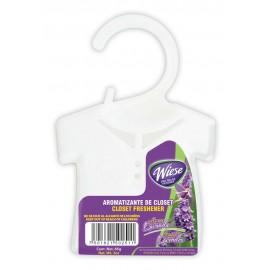 Rafraichisseur pour armoires, gardes-robes et tiroirs - frangrance lavande - 85 g (3 oz) - Wiese NPAP00