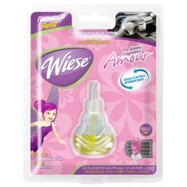 Bouteille de recharge pour rafraichisseur d'air pour automobile - parfum amour - 7 ml (0,25 oz) - Wiese NREAU00