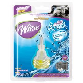 Bouteille de recharge pour rafraichisseur d'air pour automobile - parfum brissé - 7 ml (0,25 oz) - Wiese NREAU01