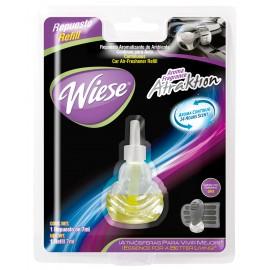 Bouteille de recharge pour rafraichisseur d'air pour automobile - parfum Atraktion - 7 ml (0,25 oz) - Wiese NREAU02