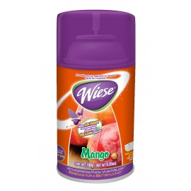 Déodorisant en aérosol intermittent - parfum mangue - 180 ml (6,2 oz ) - Wiese NAEDC03