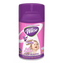 Déodorisant en aérosol intermittent - Weise - parfum poudre pour bébé - 6,2 oz (180 ml) - NAEDC12