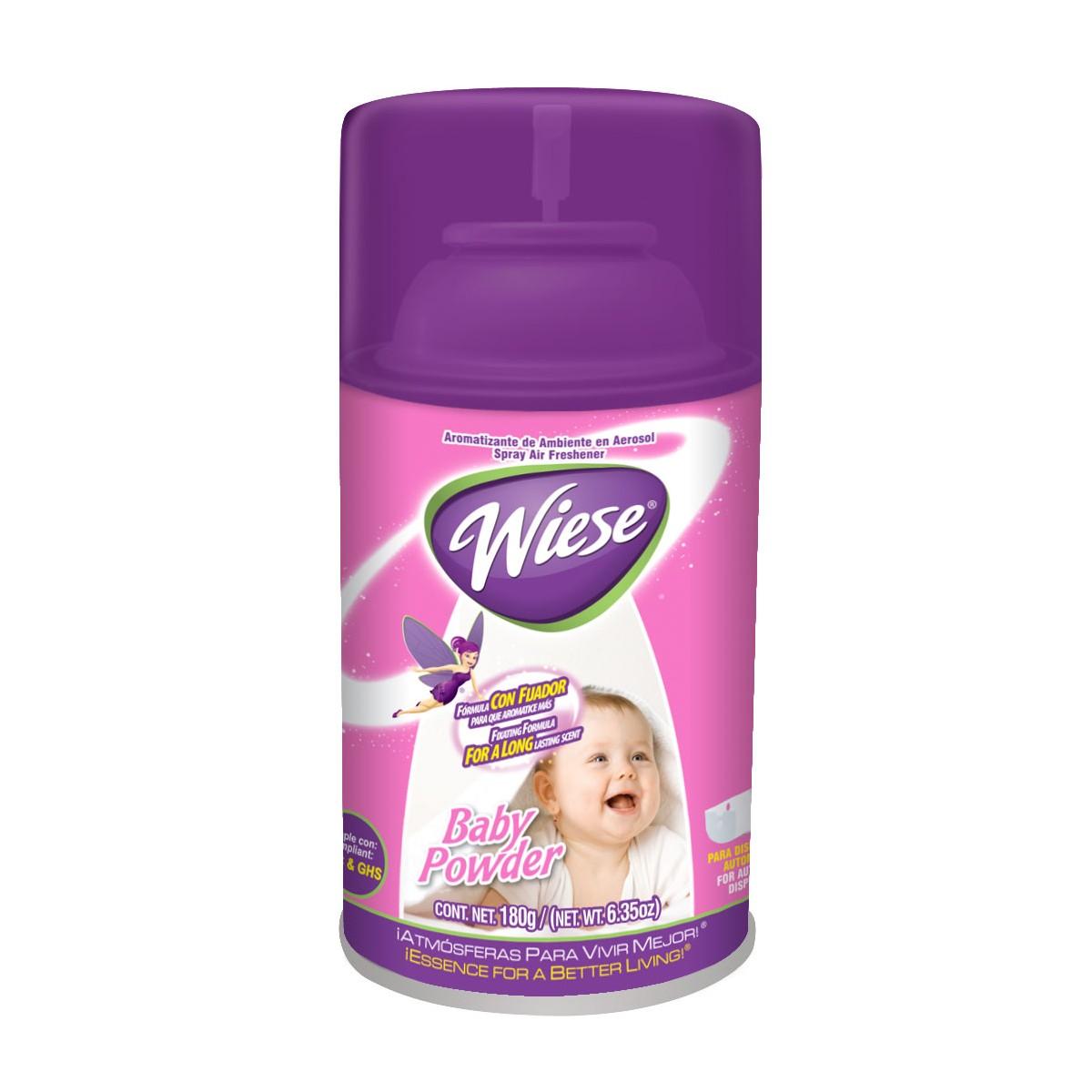 Metered Air Freshener Weise Baby Powder Scent 6 2 Oz