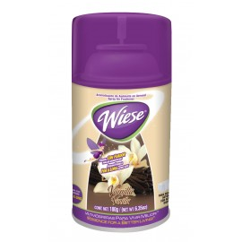 Déodorisant en aérosol intermittent - Weise - parfum vanille - 6,2 oz (180 ml) - NAEDC04